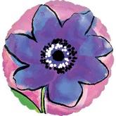 """18"""" Painted Purple Flower"""