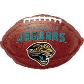 """18"""" NFL Jacksonville Jaguars Football"""