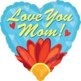 """28"""" Love You Mom Daisy Balloon"""