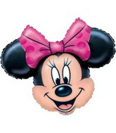 "28"" Minnie Mouse Head Balloon"