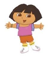 """32"""" Dora the Explorer Balloon"""