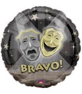 "18"" Drama Bravo! Mylar Balloon"